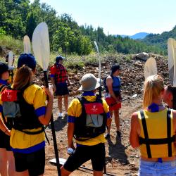 Kayaking Eco Park Ulza Shkopet Day tour
