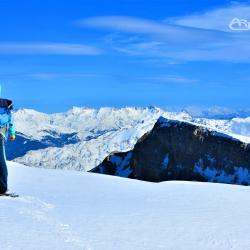 Snowshoeing In the holy Mountain of Tomorr ,Berat