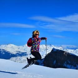 Snowshoeing In  holy Mountain of Tomorr ,Berat