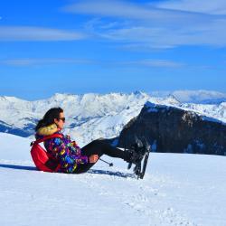 Snowshoeing In holy Mountain of Tomor ,Berat